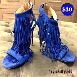 Steve Madden Cobalt Blue Heels